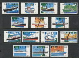 St Kitts 1990 Pictorials, Ships (80c Short Cnr TR) MUH - St.Kitts And Nevis ( 1983-...)