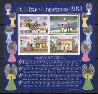 St Kitts 1983 Xmas MS SEPCIMEN MUH - St.Kitts And Nevis ( 1983-...)