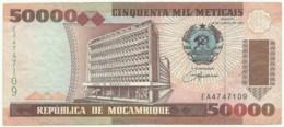 Mozambique - 50 000 Meticais - 16.06.1993 ( 1994 )- P 138 - Serie EA - 50000 - Mozambique