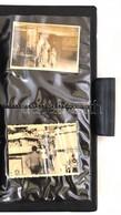 Vegyes Fotó Tétel, Kb. 70 Db, Nagyméretű CD-tartóban, Különféle Méretben, Változó állapotban, CD Tartó: 30x18x5 Cm - Other Collections