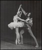 Cca 1960-1970 Balettáncosok, Fotó, Kartonra Kasírozva, 31x26,5 Cm - Other Collections