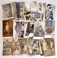 Cca 1910-1958 61 Db Vegyes Fotó: Járművek, Fürdőzők, Portrék, Tájak... - Other Collections