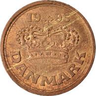 Monnaie, Danemark, Margrethe II, 25 Öre, 1995, TTB, Bronze, KM:868.1 - Dänemark