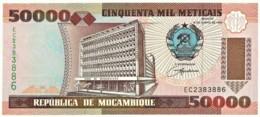 Mozambique - 50 000 Meticais - 16.06.1993 ( 1994 )- Unc. - P 138 - Serie EC - 50000 - Mozambique