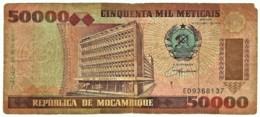Mozambique - 50 000 Meticais - 16.06.1993 ( 1994 )- P 138 - Serie ED - 50000 - Mozambique
