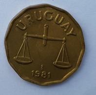 URUGUAY 1981 - 50 CENTESIMOS - Uruguay