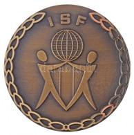 """1992. """"ISF / ISF - Volleyball '92 - Kecskemét Hungary"""" Egyoldalas Br Strandröpladba Sport Emlékérem, Hátlapon Gravírozva - Coins & Banknotes"""