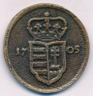 """1705. XX Poltura """"II. Rákóczi Ferenc"""" öntvény Fém Replika T:2 - Coins & Banknotes"""