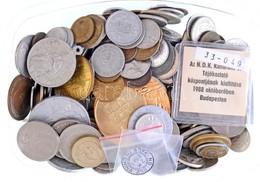 Vegyes Magyar és Külföldi Fémpénz Tétel 1,5 Kg-os Súlyban T:vegyes - Munten & Bankbiljetten