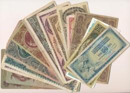 23db Vegyes Magyar és Külföldi Bankjegy, Közte Főleg Pengők T:vegyes - Coins & Banknotes