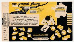 MARSEILLE - Abaque De Calcul Carton (multiplication) + Grands Fleuves - PIERY Marseille Spécialiste Cadeaux - Advertising