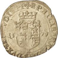 Monnaie, États Italiens, Savoie, Emmanuel-Philibert, Blanc (4 Soldi), 1579 - Regional Coins