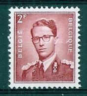 BELGIE Boudewijn Bril * Nr 925 * Postfris Xx * WIT  PAPIER - 1953-1972 Glasses