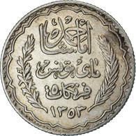 Monnaie, Tunisie, Ahmad Pasha Bey, 5 Francs, 1936, Paris, TTB, Argent, KM:261 - Tunisia
