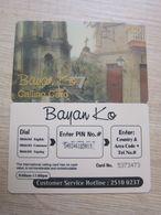 Prepaid Phonecard, Church In Philippines, Used - Hongkong
