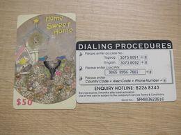 Prepaid Phonecard, Sweet Home, Used - Hongkong