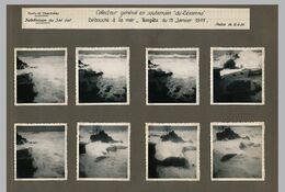 AFN - Collecteur Général En Souterrain Du ZERAMNA - Tempête Du 13 Janvier 1949 - Documents Photographiques - Africa