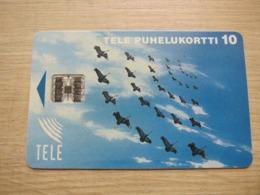 Chip Phonecard, Goose,mint - Finlandia