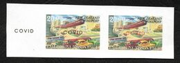 New Zealand Wine Post Covid Overprint On Trial Design. - Unclassified