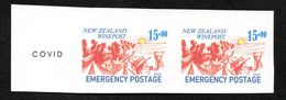 New Zealand Wine Post Trial Design With Trial Covid Overprint On The Margin. - Unclassified