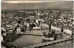 41tht 1729 GENEVE - LE RHONE A TRAVERS LA VILLE - GE Genève