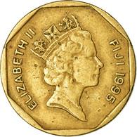 Monnaie, Fiji, Elizabeth II, Dollar, 1995, TTB, Aluminum-Bronze, KM:73 - Fiji