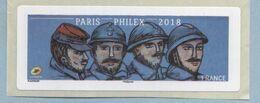 2018 LISA 2 VIGNETTE VIERGE  PARIS-PHILEX - 2010-... Illustrated Franking Labels