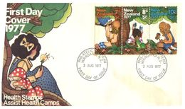 (G 9) New Zealand - FDC - 1977 - Health - FDC