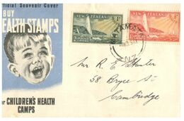 (G 9) New Zealand - FDC - 1951 ?  - Health - FDC