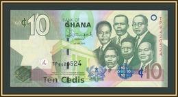 Ghana 10 Cedi 2015 P-39 (39f) UNC - Ghana