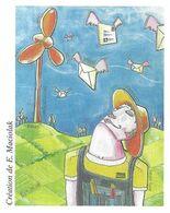 STYLE DE VIE, MAGIE, TRADITION, SAVOIR FAIRE, NATURE, TECHNOLOGIE SIGNE MACIOLAK, PAP ENTIER POSTAL FLAMME LA POSTE 2008 - Umweltschutz Und Klima