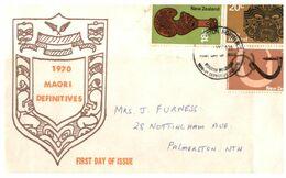 (G 9) New Zealand - FDC - 1970 - Maori - FDC