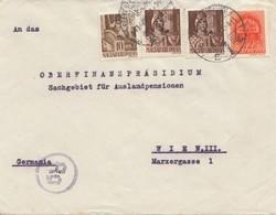 Zensur: 1941: Ungarn Nach Deutschland  - Sin Clasificación