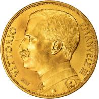 Monnaie, Italie, Vittorio Emanuele III, 100 Lire, 1912, Rome, SUP+, Or, KM:50 - 1861-1946 : Kingdom
