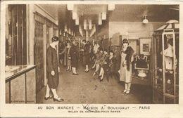 000078 - AU BON MARCHE -  PARIS - SALON DE COIFFURE DAMES - CORRESPONDANCE COMMERCIALE - 1931 - Other