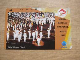 Tamura Phonecard,50 Years Of Indonesia,used - Indonesia