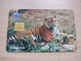 Chip Phonecard,Sumatran Tiger - Indonesia