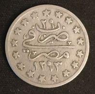Pas Courant - EGYPTE - EGYPT - 1 QIRSH 1903 ( 1293 ) - KM 299 - ( Abdul Hamid II ) - Egypte