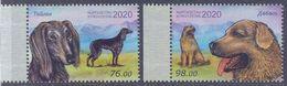 2020. Kyrgyzstan, Kyrgyz Dogs, 2v Perforated, Mint/** - Kyrgyzstan