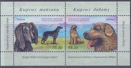 2020. Kyrgyzstan, Kyrgyz Dogs, S/s Perforated, Mint/** - Kyrgyzstan