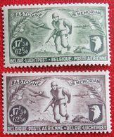 Luchtpost Poste Aérienne 1946 OBP PA/LP 12-13 (Mi 758-759) POSTFRIS /MNH ** BELGIE BELGIUM - Poste Aérienne