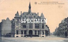 139 Ecole Communale Et La Rue Des Vétérinaires -  Cureghem - Kuregem - Anderlecht - Anderlecht