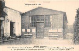 """PARIS  -  Ecole D'Electricité Industrielle """" CHARLIAT """" 53 Rue BELLIARD  -  Salle De Cours - Distretto: 18"""