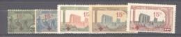 Tunisie  :  Yv  59-63  * - Tunisie (1888-1955)