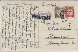 Portugal - Schiffspostkarte (Paquebot) Lisboa - Hannover 1934 - Portugal