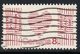 Canada Scott 0560 USED - United Nations World Health Day: Heart - Usati