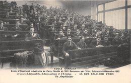 """PARIS  -  Ecole D'Electricité Industrielle """" CHARLIAT """" 53 Rue BELLIARD  -  Un Amphithéatre - Distretto: 18"""