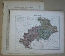 Dpt- 05 Joanne 1870 30x38 HAUTES-ALPES Gap Briancon Embrun Monestier Orcieres Etienne Devoluy Mont-Dauphin Serres Chorge - Carte Geographique