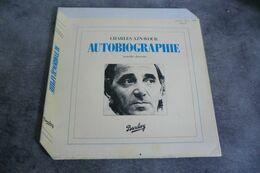 Disque - Charles Aznavour - Autobiographie Nouvelles Chansons- Barclay 96108 -  France - - Disco, Pop