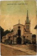 CPA Montluel - Église Notre-Dame (89077) - Montluel
